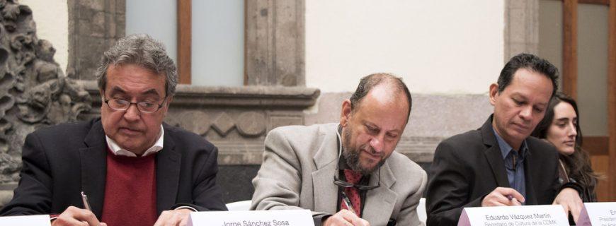La AMACC firmó un convenio de colaboración con la Secretaría de Cultura de la CDMX