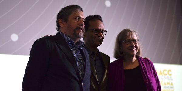 Armando Casas, Ernesto Contreras y Guadalupe Ferrer