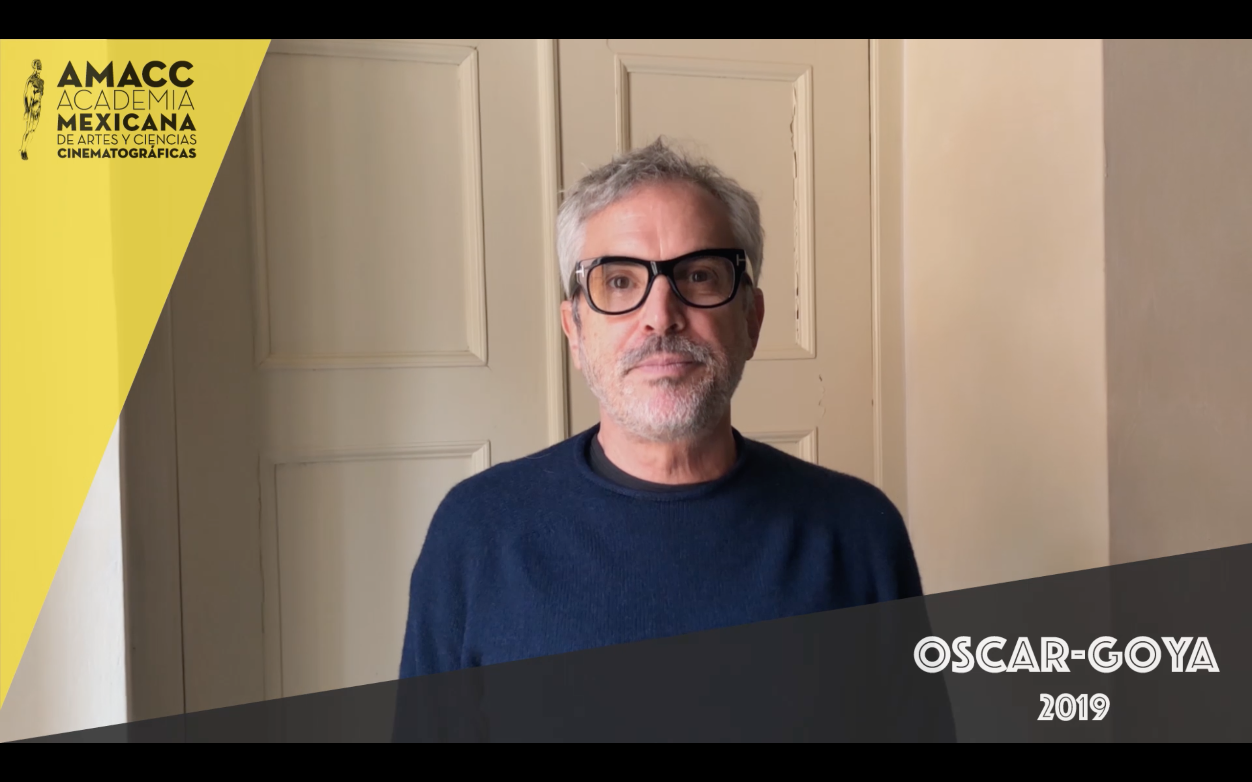 Mensaje de Alfonso Cuarón