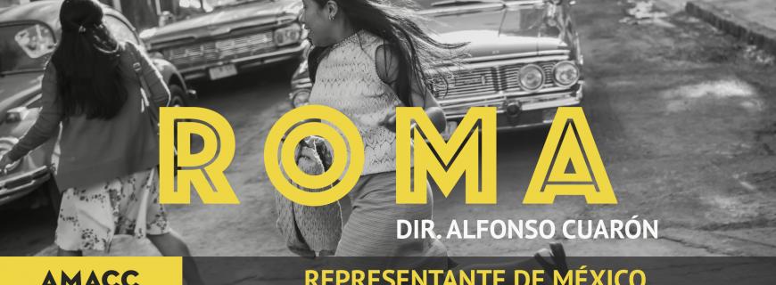 ROMA | Película seleccionada para representar a México en los 91 Premios Oscar y en los 33 Premios Goya