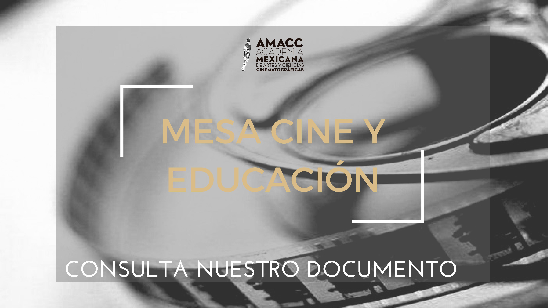 MESA CINE Y EDUCACIÓN