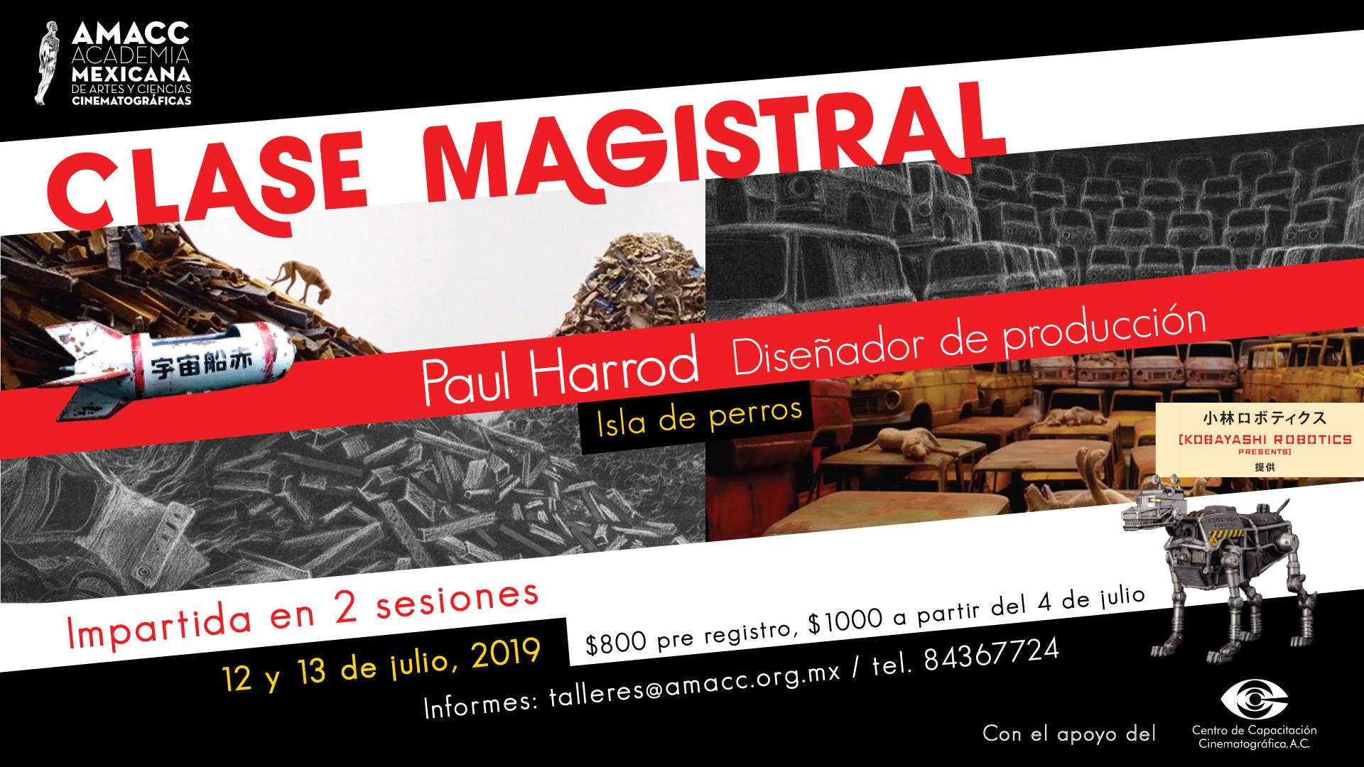 Clase Magistral de Paul Harrod