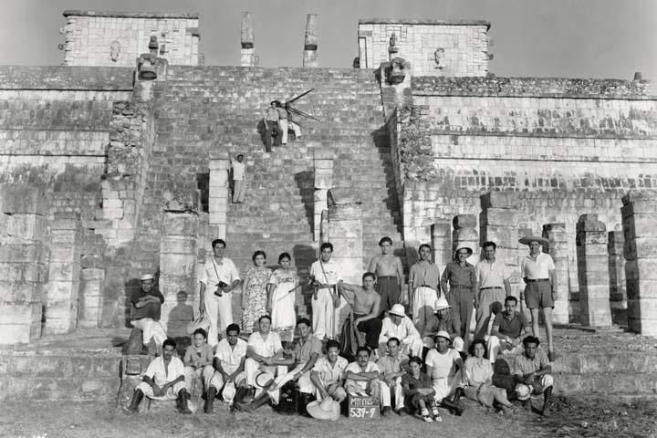 1939 La noche de los mayas
