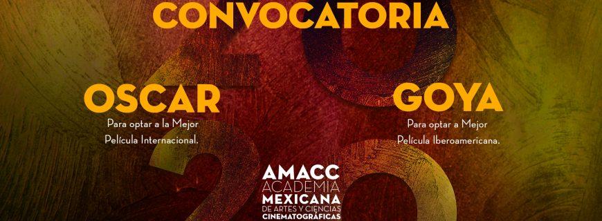 La AMACC abre su convocatoria Oscar y Goya
