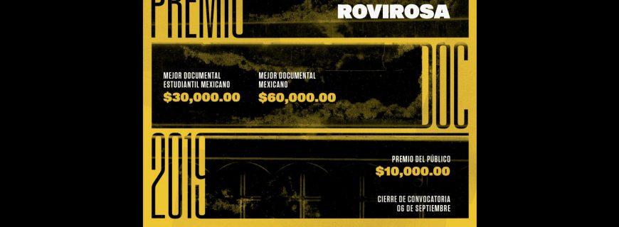 La UNAM lanza la convocatoria para el Premio José Rovirosa al Mejor Documental 2019