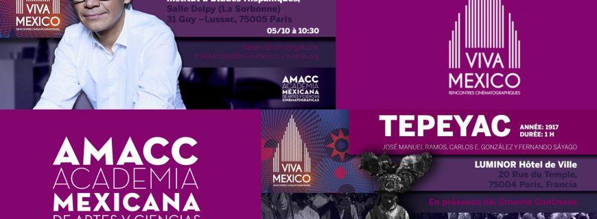 La AMACC en el Festival Viva Mexico en París