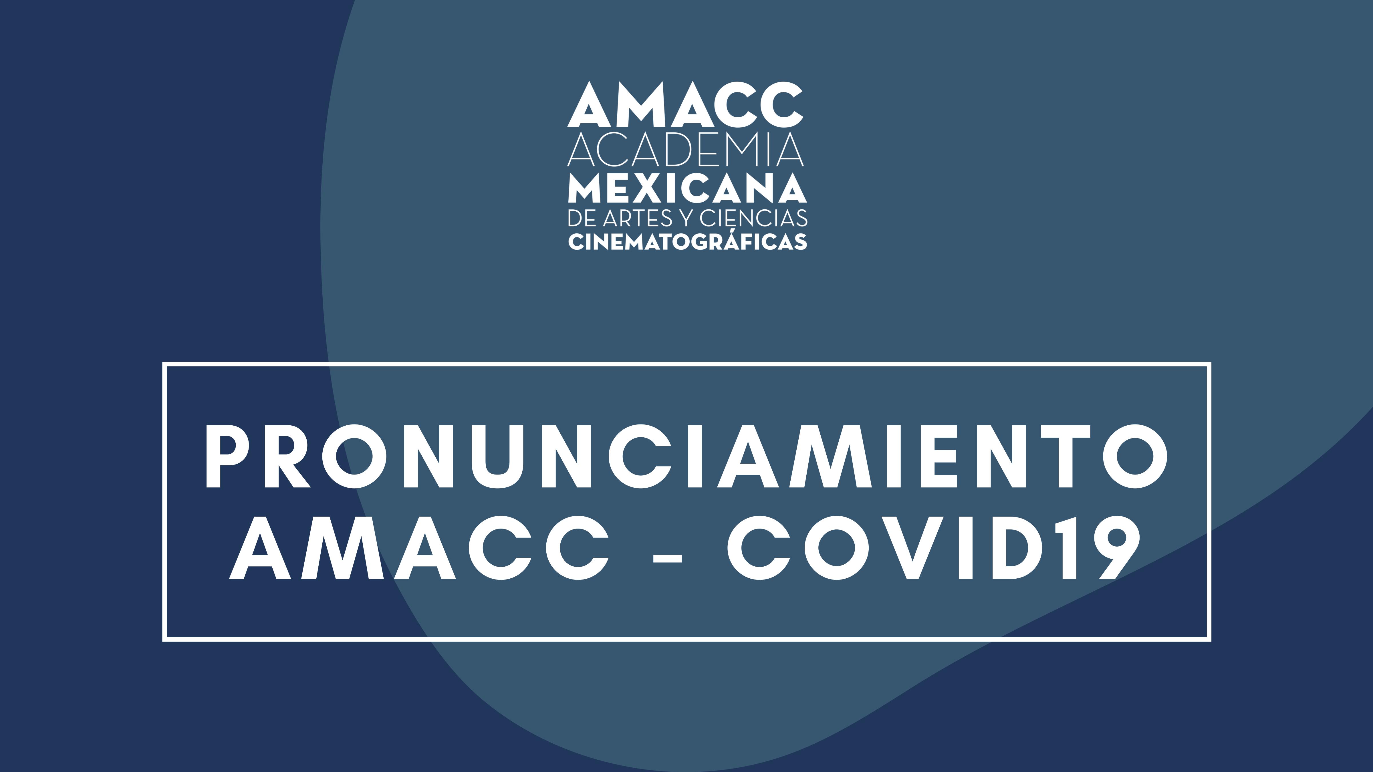 PRONUNCIAMIENTO AMACC- COVID 19