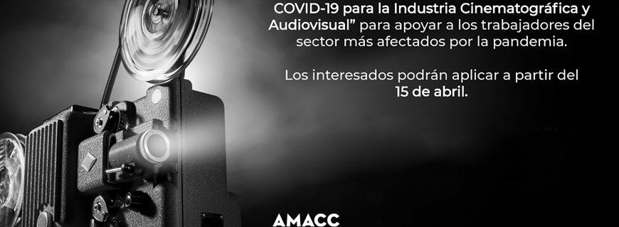 Fondo de apoyo COVID-19 para la industria cinematográfica y audiovisual | Comunicado de prensa