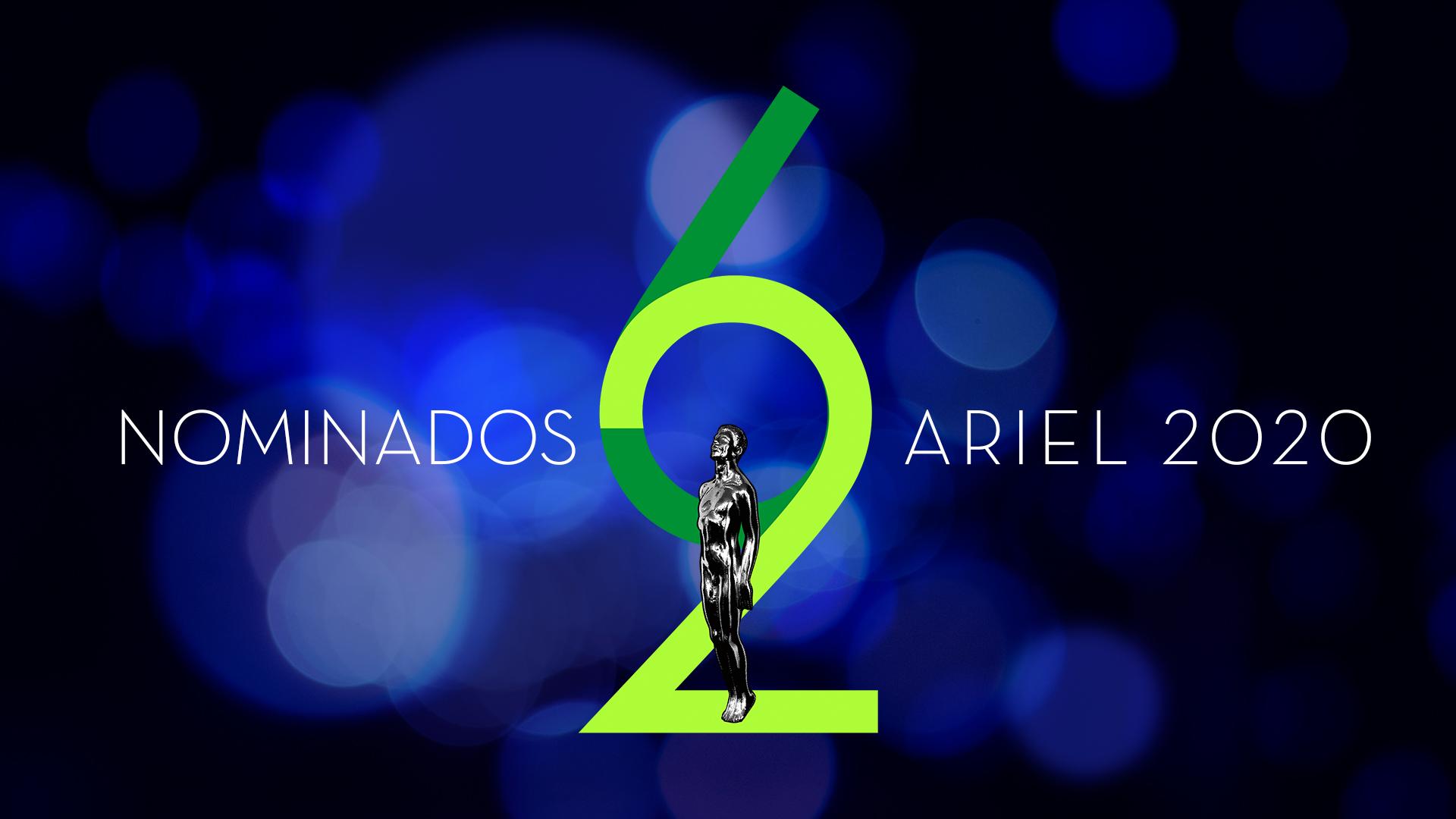 NOMINADOS ARIEL 2020