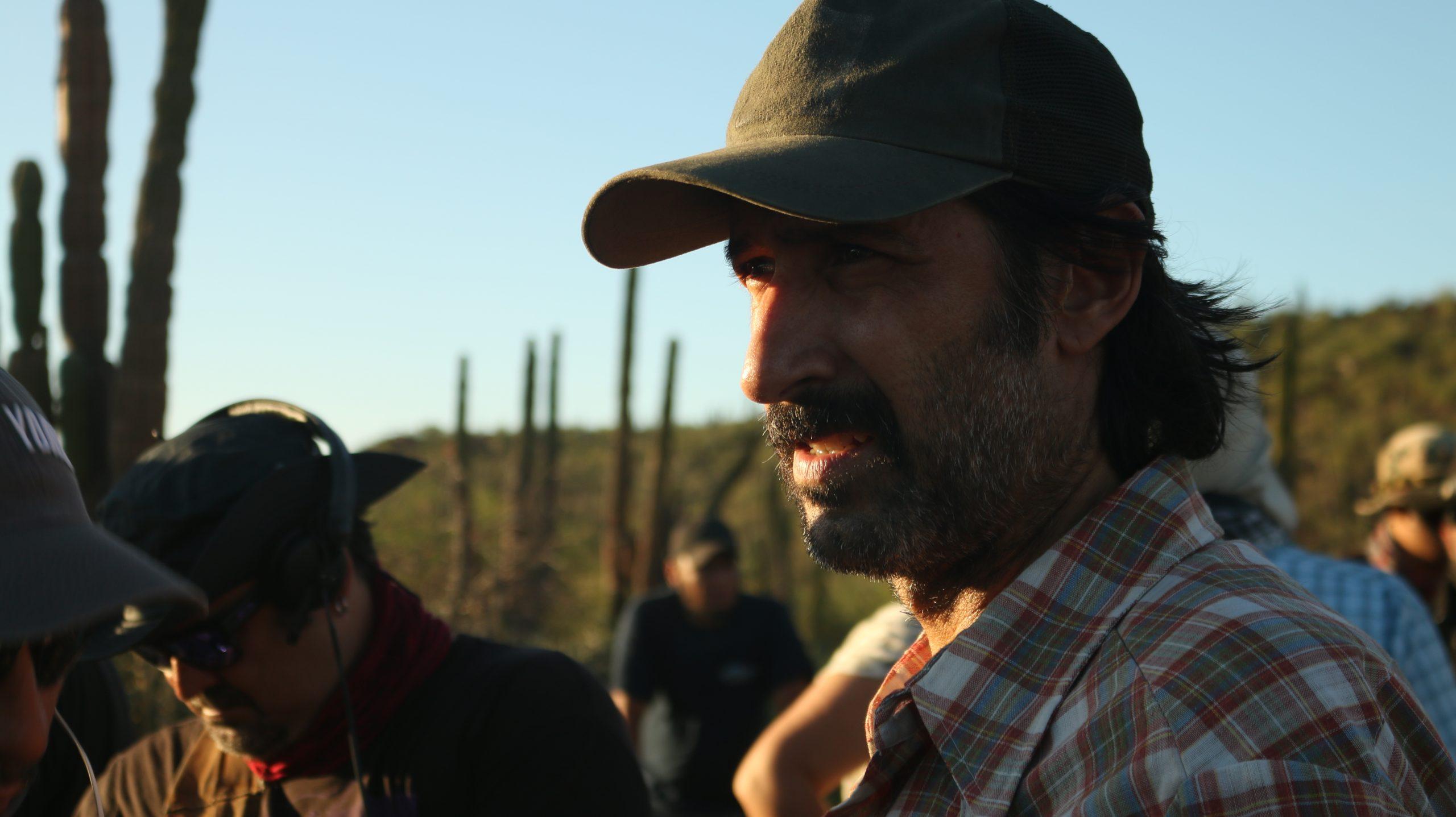 José María Yázpik, en Set. Director_Polvo