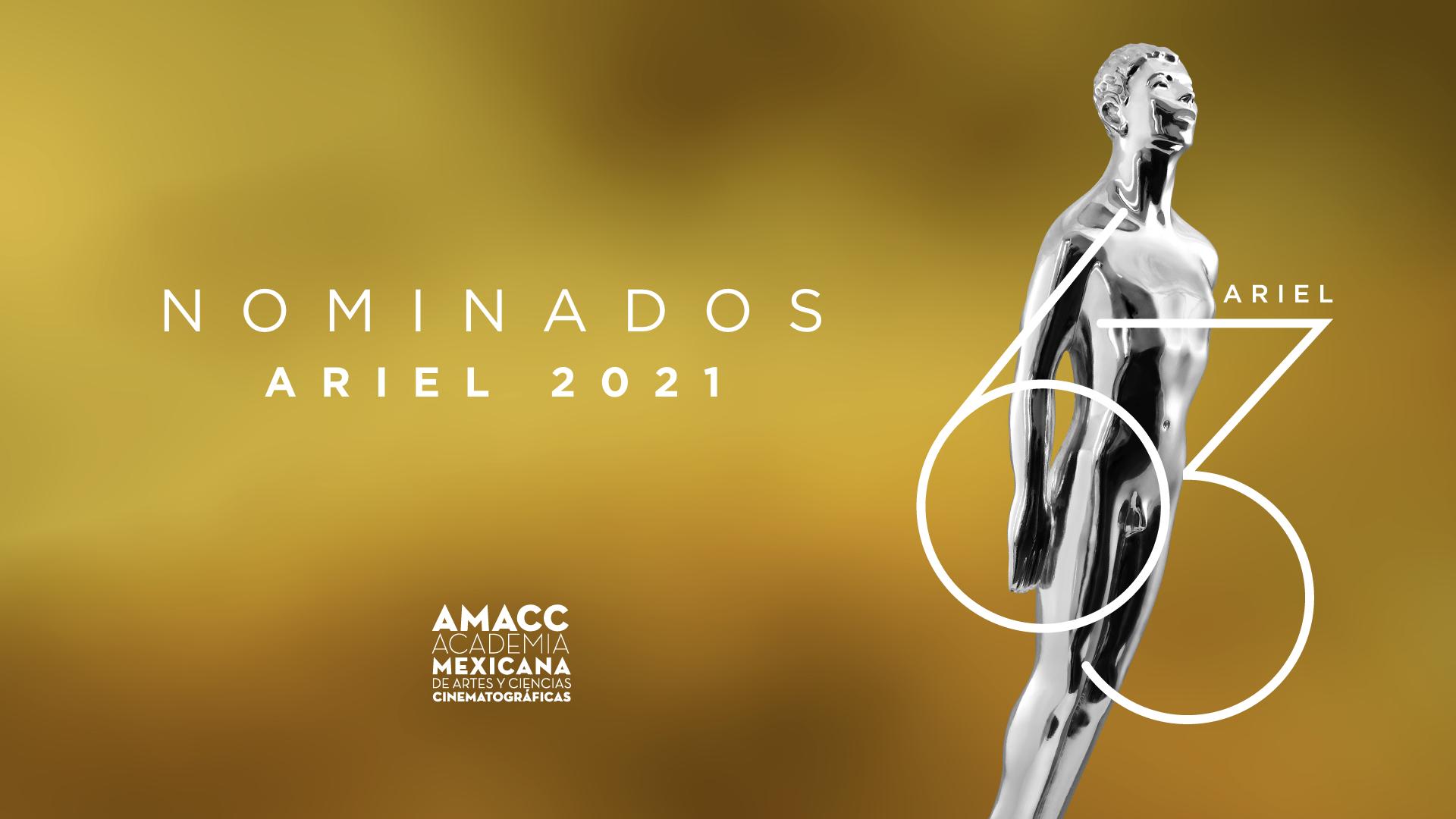 NOMINADOS ARIEL 2021